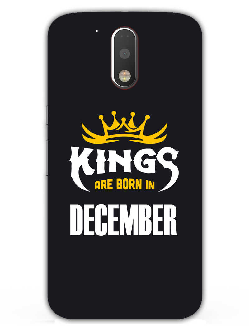 Kings December - Narcissist Moto G4  Mobile Cover Case - MADANYU
