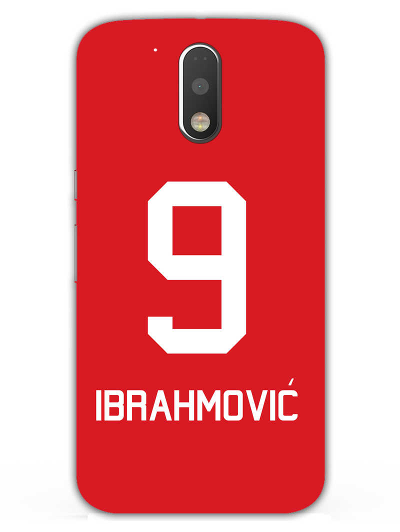 Ibrahimovi? Moto G4  Mobile Cover Case - MADANYU
