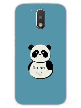 Sleepy Panda Moto G4  Mobile Cover Case