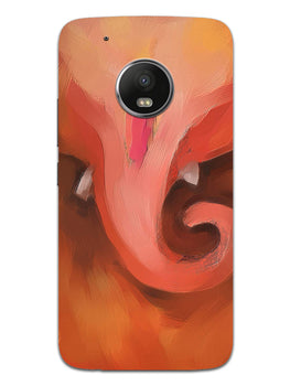 Lord Ganesha Art Moto G5 Plus Mobile Cover Case