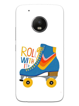 Roller Skate Play With Fun Moto G5 Plus Mobile Cover Case