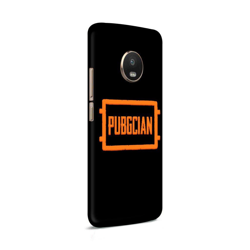 Pubgcian For Game Lovers Moto G5 Plus Mobile Cover Case - MADANYU