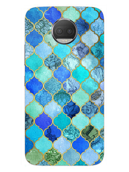 Morroccan Pattern Moto G5S Plus Mobile Cover Case