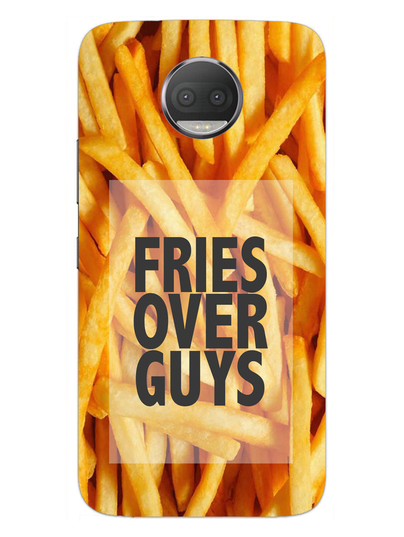Fries Over Guys Moto G5S Plus Mobile Cover Case - MADANYU
