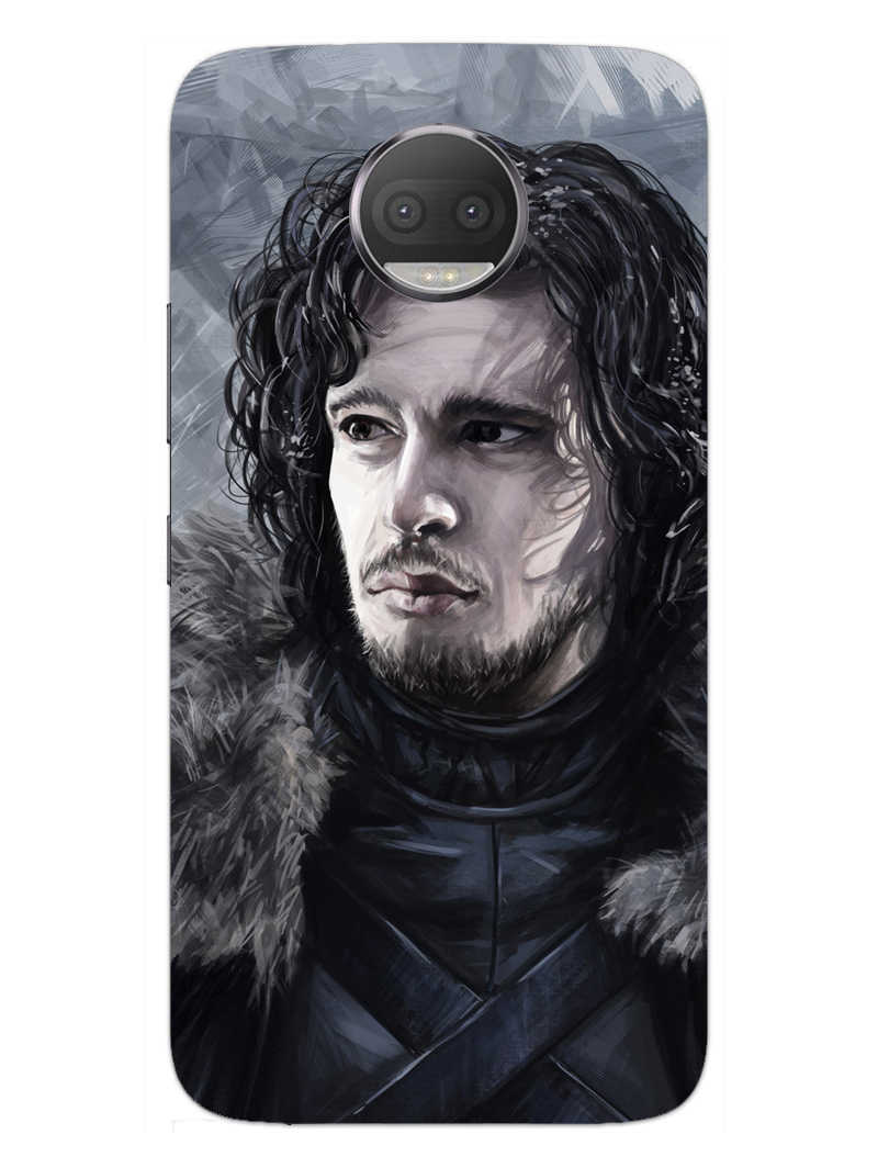 Jon Snow Moto G5S Plus Mobile Cover Case