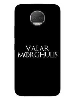 Valar Morghulis Moto G5S Plus Mobile Cover Case