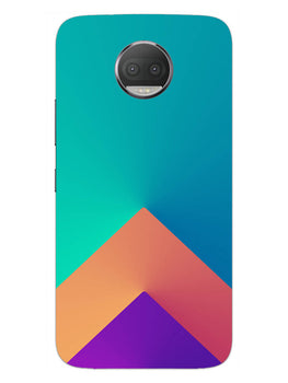 Triangular Shapes Moto G5S Plus Mobile Cover Case