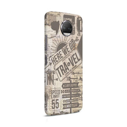 Wanderlust Graffiti Moto G5S Plus Mobile Cover Case