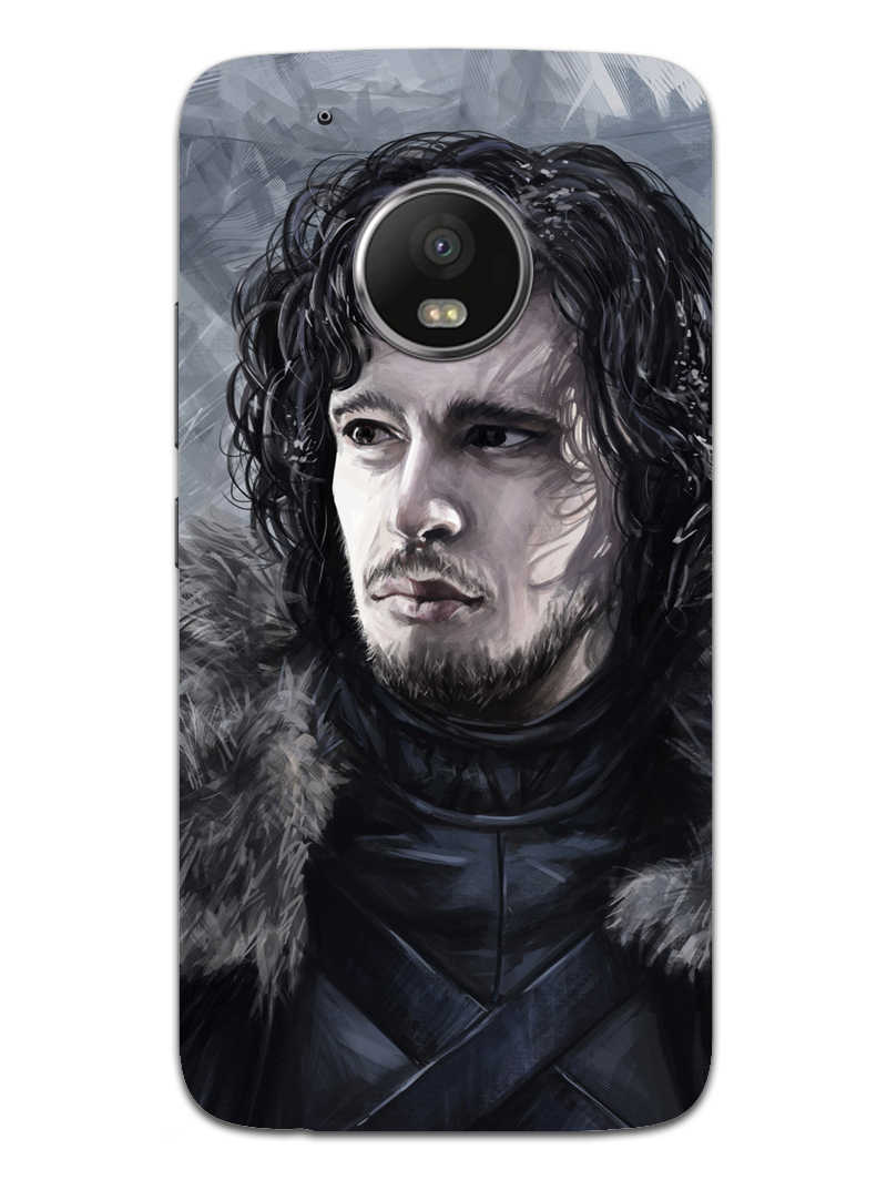 Jon Snow Moto G5 Mobile Cover Case