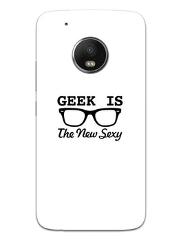 Geek Is Sexy Moto G5 Mobile Cover Case