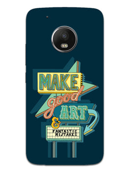 Make Good Art Moto G5 Mobile Cover Case