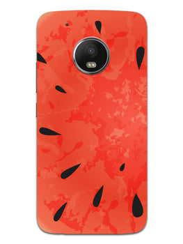 Drinking Watermelon Moto G5 Mobile Cover Case