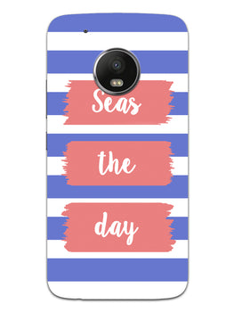 Seas The Day Moto G5 Mobile Cover Case