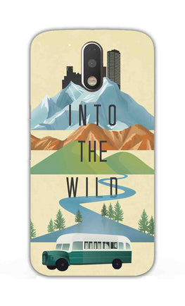 Into The Wild For Travel Lovers Moto G4  Mobile Cover Case