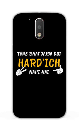 Hardich Nahi Hai Movie Dialogue  Moto G4  Mobile Cover Case