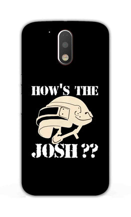 Hows The Josh For Game Lovers Moto G4  Mobile Cover Case