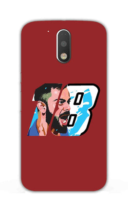 Virat Kohli Number 18 Moto G4 Plus Mobile Cover Case