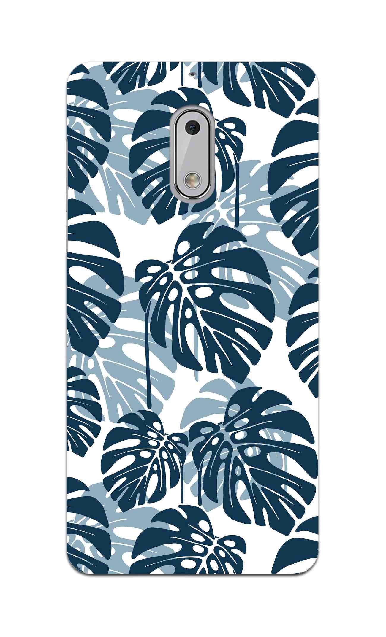Seamless Tropical Leaves Nokia 6 Mobile Cover Case