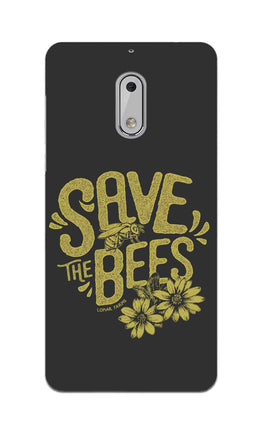 Save The Bees Motivation Quote Nokia 6 Mobile Cover Case