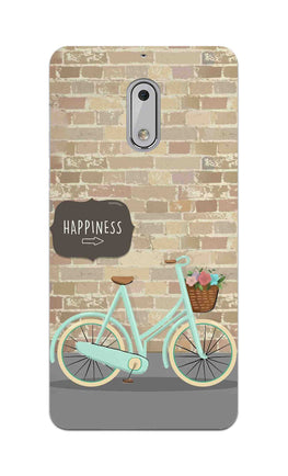 Enjoy The Ride With Bycycle Nokia 6 Mobile Cover Case