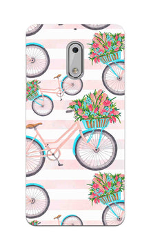 Bicycles Everywhere So Girly Nokia 6 Mobile Cover Case