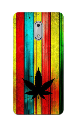 Colorful Vintag Weed Art For Artist Nokia 6 Mobile Cover Case