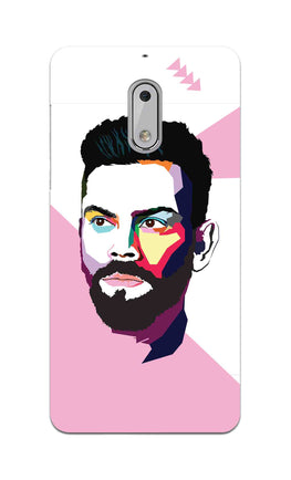 Virat Koli Art For Kohli Cricket Lovers Nokia 6 Mobile Cover Case