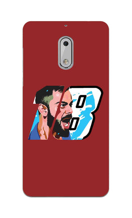 Virat Kohli Number 18 Nokia 6 Mobile Cover Case