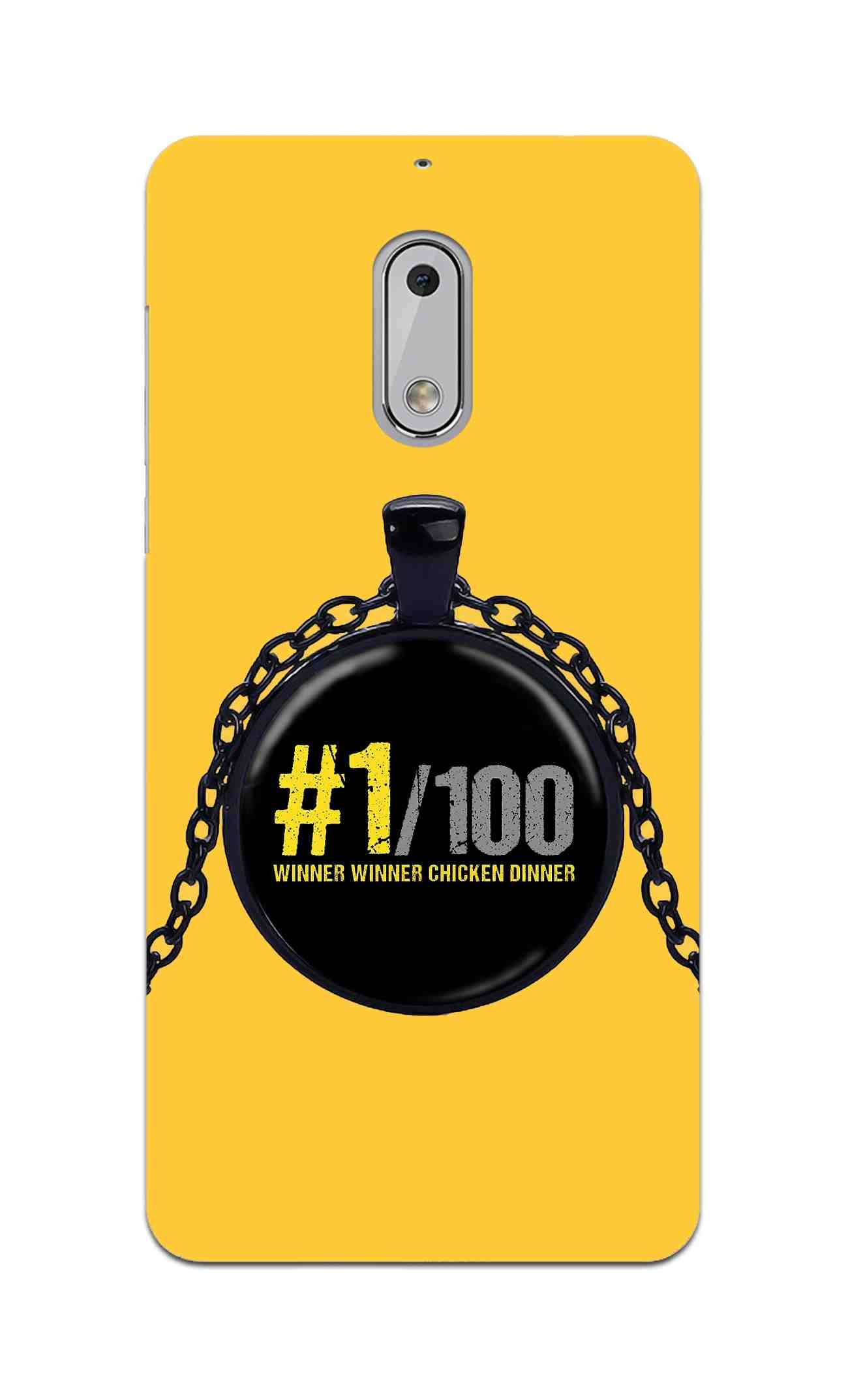 Only One Can Servive Out Of 100 Typography Art Nokia 6 Mobile Cover Case