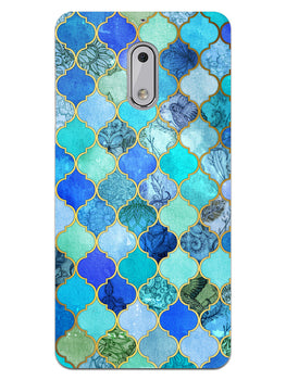 Morroccan Pattern Nokia 6 Mobile Cover Case