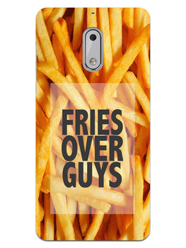 Fries Over Guys Nokia 6 Mobile Cover Case