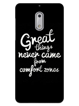 Comfort Zone Gyaan Nokia 6 Mobile Cover Case