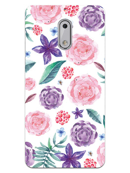 Floral Pattern Nokia 6 Mobile Cover Case