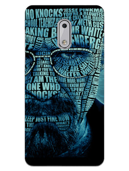 Heisenberg Typography Nokia 6 Mobile Cover Case