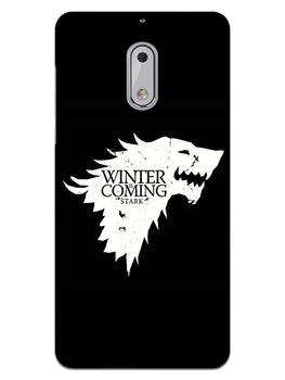 Winter Wolf Nokia 6 Mobile Cover Case