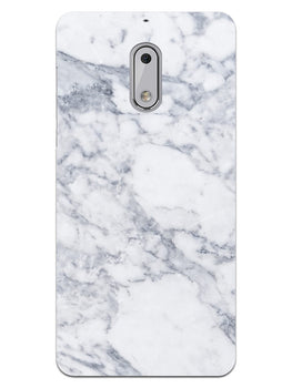 Chic White Marble Nokia 6 Mobile Cover Case