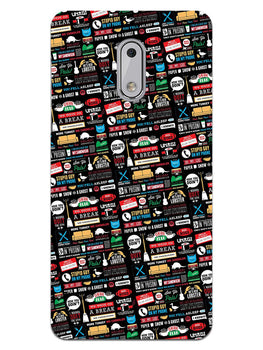 FRIENDS Nokia 6 Mobile Cover Case