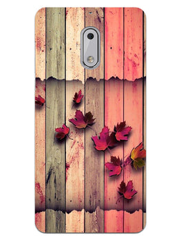 Color Wood Nokia 6 Mobile Cover Case