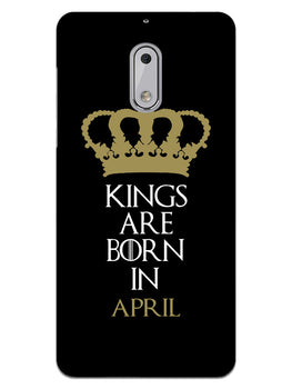 Kings April Nokia 6 Mobile Cover Case