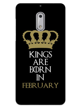 Kings February Nokia 6 Mobile Cover Case