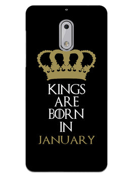 Kings January Nokia 6 Mobile Cover Case