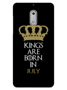 Kings July Nokia 6 Mobile Cover Case