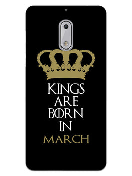 Kings March Nokia 6 Mobile Cover Case
