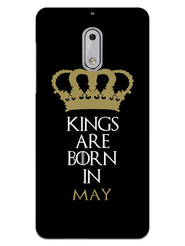 Kings May Nokia 6 Mobile Cover Case