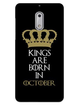 Kings October Nokia 6 Mobile Cover Case