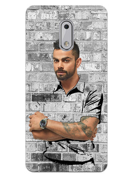 The Wall Of Kohli Nokia 6 Mobile Cover Case