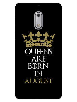 Queens August Nokia 6 Mobile Cover Case