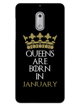 Queens January Nokia 6 Mobile Cover Case