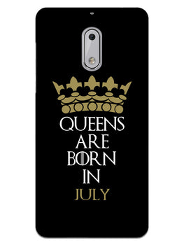 Queens July Nokia 6 Mobile Cover Case