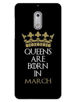 Queens March Nokia 6 Mobile Cover Case